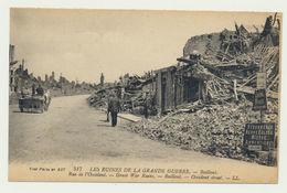 BAILLEUL-  Rue De L'occident -les Ruines De La Grande Guerre - France