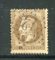 Y&T N°30- étoile 12 - 1863-1870 Napoleone III Con Gli Allori
