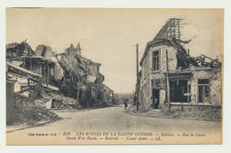 BAILLEUL-  Rue De Cassel -les Ruines De La Grande Guerre - France