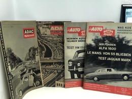 Konvolut Von 4 Zeitschriften Auto, Motorsport: Das Auto Motor Und Sport (Heft 10 Und 15), Adac Motorwelt (Heft - Transport