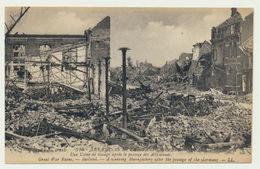 BAILLEUL-  L'usine De Tissage -les Ruines De La Grande Guerre - France
