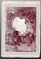 (photo)  Revue PARIS PHOTOGRAPHE NADAR 1e Année N°2  (mai 1891) - Photographie
