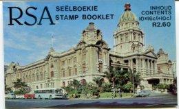 Südafrika 4 Markenheftchen Mi# 714-5,719-20,725-6,731-2 -  Postfrisch MNH - Flood Disaster 1987 - Carnets