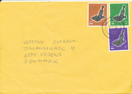 Oman Cover Sent To Denmark - Oman