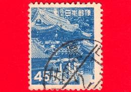 GIAPPONE - Usato - 1952 - Porta Di Yomei, Santuario Di Tōshō-gū - Nikko - 45 - 1926-89 Imperatore Hirohito (Periodo Showa)