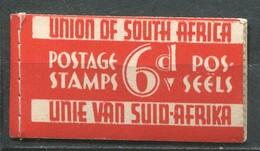Südafrika Markenheftchen Mi# 75-8 Postfrisch MNH - Red Razorblade Booklet - Carnets