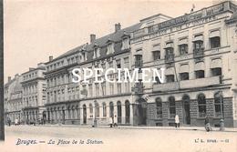 Place De La Station - Bruges - Brugge - Brugge