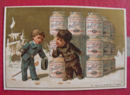 Image Chromo Extrait De Viande Liebig. S 77. Igloo. 1878 - Liebig