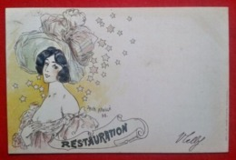 CPA Restauration - Les Annonciatures - Jack Abeillé - Künstlerkarten