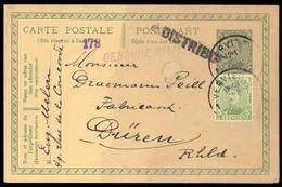 1919, Belgien, 116 + GA, Brief - Belgique