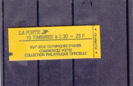 France -1989 -Type Marianne Du Briat - 2.30 Fr Rouge - N°YT 2614-C5B - Conf 7 - Definitives
