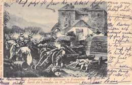 Freiwaldau (Jeseník) - Belagerung Des Schlosses 1902 AKS - Sudeten