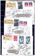 Ar3086  3 Imprimé R  AR  Tourcoing   Tarif 2,90  Et 4,90 Retour Envoyeur - Covers & Documents