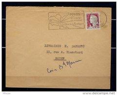 Ar3336 MORBIHAN Pontivy Rivière Campagne .../  Pontivy 13-01-1964 - Marcophilie (Lettres)