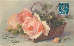 TOP 407 - CPA Original  Fleurs -  Signée  Catharina KLEIN - Bon état,  Voir Scan Recto Verso - Klein, Catharina