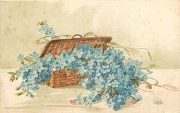 TOP 412 - CPA Original  Fleurs -  Signée  Catharina KLEIN - Bon état,  Voir Scan Recto Verso - Klein, Catharina