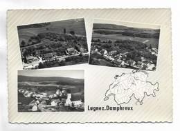 SUISSE - LUGNEZ-DAMPHREUX - 3 Vues - JU Jura