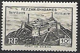 Timbre Fezzan Neuf * 1946 - Fezzan & Ghadames