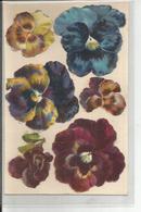 DECOUPI   Multiples PENSEES - Fleurs