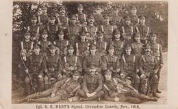 Cpl S E Hart S Squad Grenadier Guards Nov 1916 - Militaria