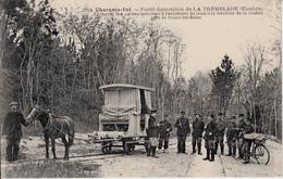 17 FORET DOMANIALE DE LA TREMBLADE  REUNION DES GARDES FORESTIERS  BRAUN 2804 - La Tremblade