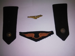Lot Insigne Tissu épaulette  Armée De L Air - Armée De L'air