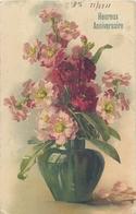 TOP 437 - CPA Original  Fleurs -  Signée  Catharina KLEIN -,  Voir Scan Recto Verso - Klein, Catharina