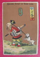 Image Chromo Extrait De Viande Liebig. S 117. Chinois, Japonais. 1883. - Liebig