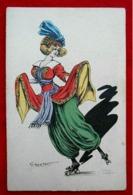 CPA Illustrateur G Mouton Femme / Rétro - Altre Illustrazioni