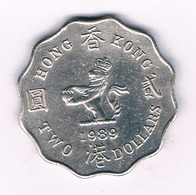 2 DOLLAR 1989 HONGKONG /2248/ - Hong Kong