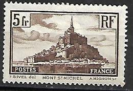 Timbre France Neuf * N°260 - France