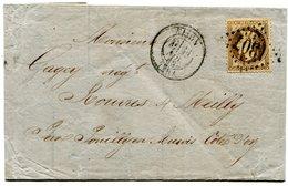 COTE D OR De DIJON LAC 2ième échelon Du 23/11/1868 Avec N°31 Oblitéré GC 1307 - 1849-1876: Classic Period