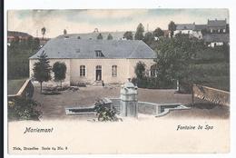 Morlanwelz  Mariemont  Fontaine De Spa   Colorisée  Ed Nels  Série 64 N° 8  Oblitérée Morlanwelz - Morlanwelz