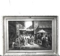 CPSM   Dentelée En NB De AVIGNON  (84)  -  Musée  Calvet  -  Marché  De  La  Place  Pie  De  P.  Grivolas    //   TBE - Avignon