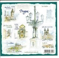 Capitales Européennes. Prague (République Tchèque) 2008 - Ungebraucht