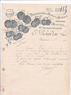 76-E.Bourdon..Manufacture De Cierges & Bougies...Gueures.. ...(Seine-Maritime)...1915 - France