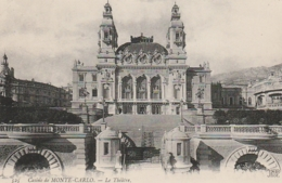 *** MONACO  *** MONTE CARLO Le Théatre Neuve TTB - Opernhaus & Theater