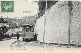 BONSECOURS : LA LIGNE DE TRAMWAY - Bonsecours
