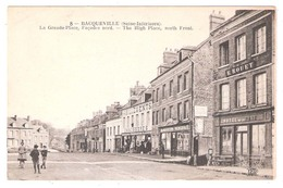 Bacqueville En Caux (76 - Seine Maritime) La Grande Place - Sonstige Gemeinden