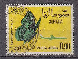 D0128 - SOMALIE SOMALIA AERIENNE Yv N°9 PAPILLONS BUTTERFLIES - Somalie (1960-...)