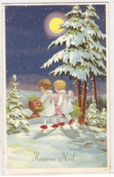 K 941 ,  OLD FANTASY  POSTCARD  , CHILDREN  , FINE ART , GREETINGS , - Enfants