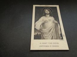 Doodsprentje ( 579 ) Oorlogslachtoffer Tommelin / Cuffez  -  Bombardement  Boezinge  Roeselare  1940 - Todesanzeige