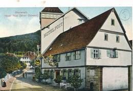 CPA-3474- Allemagne -Herrenalb -Hotel Post ( 2 Scans) -Envoi Gratuit - Deutschland