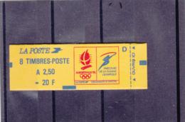 France -1991 -Type Marianne Du Briat - 2.50 Fr Rouge - N°YT 2715-C1 - Conf 9 - Definitives