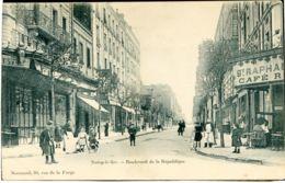 93 - NOISY Le SEC - Boulevard De La République - Noisy Le Sec
