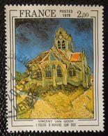 2054 France 1979 Oblitéré  L'église D' Auvers Sur Oise Vincent Van Gogh - France