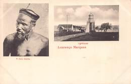MOZAMBIQUE - Lourenco MARQUES - ( A Zulu Keshia And Lighthouse ) - Mozambique