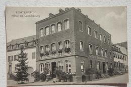 CPA ECHTERNACH Hôtel De Luxembourg JB Schmit Tabak - Echternach