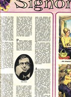 """(pagine-pages)LIBERO BOVIO:"""" SIGNORINELLA """"    Dom.delcorr.1962/26. - Libri, Riviste, Fumetti"""