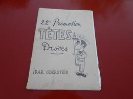 Ecole Des Officier De Reserve   ( Idar  Oberstein  ) 22 Eme Promotion  Tetes Droites  ( 13 Dessins De Michel  Moyne - Other